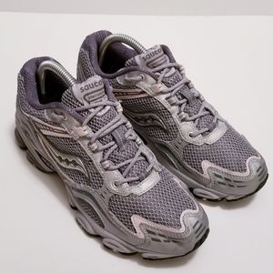 Saucony Excursion TR 3 Sz 8.5 Gray/Pink Sneakers